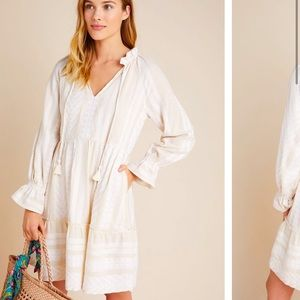 NWT Anthropologie Maeve Dominique  Tunic Dress  MP